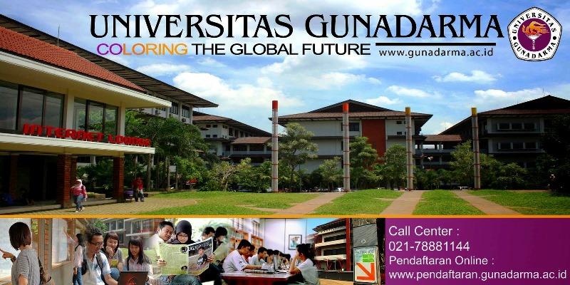 Kuliah kelas karyawan Jakarta Universitas Gunadarma