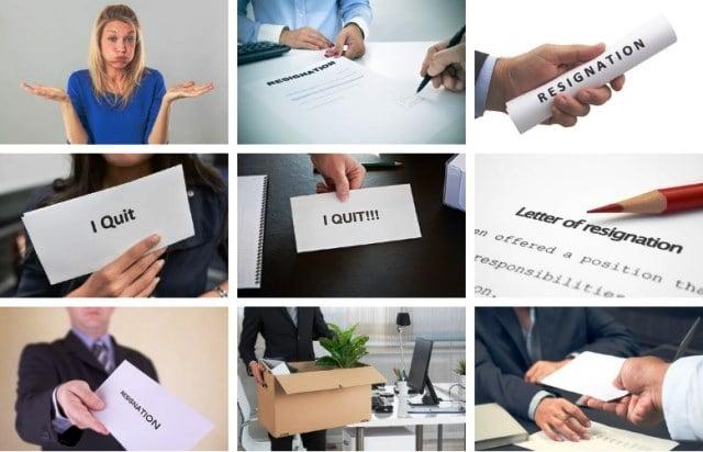 alasan karyawan mengundurkan diri