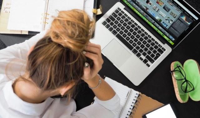 gejala stres pekerjaan