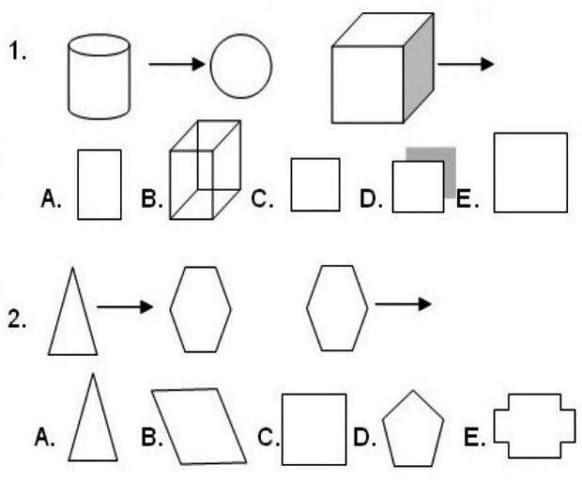 Contoh soal tes logika deret gambar dalam psikotes