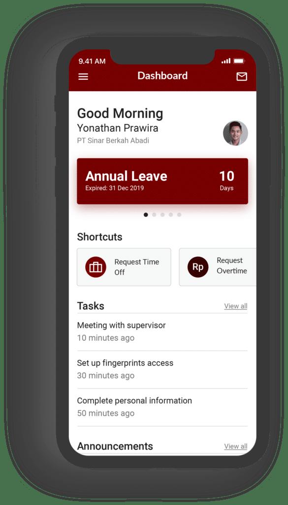 Aplikasi talenta mobile 2019