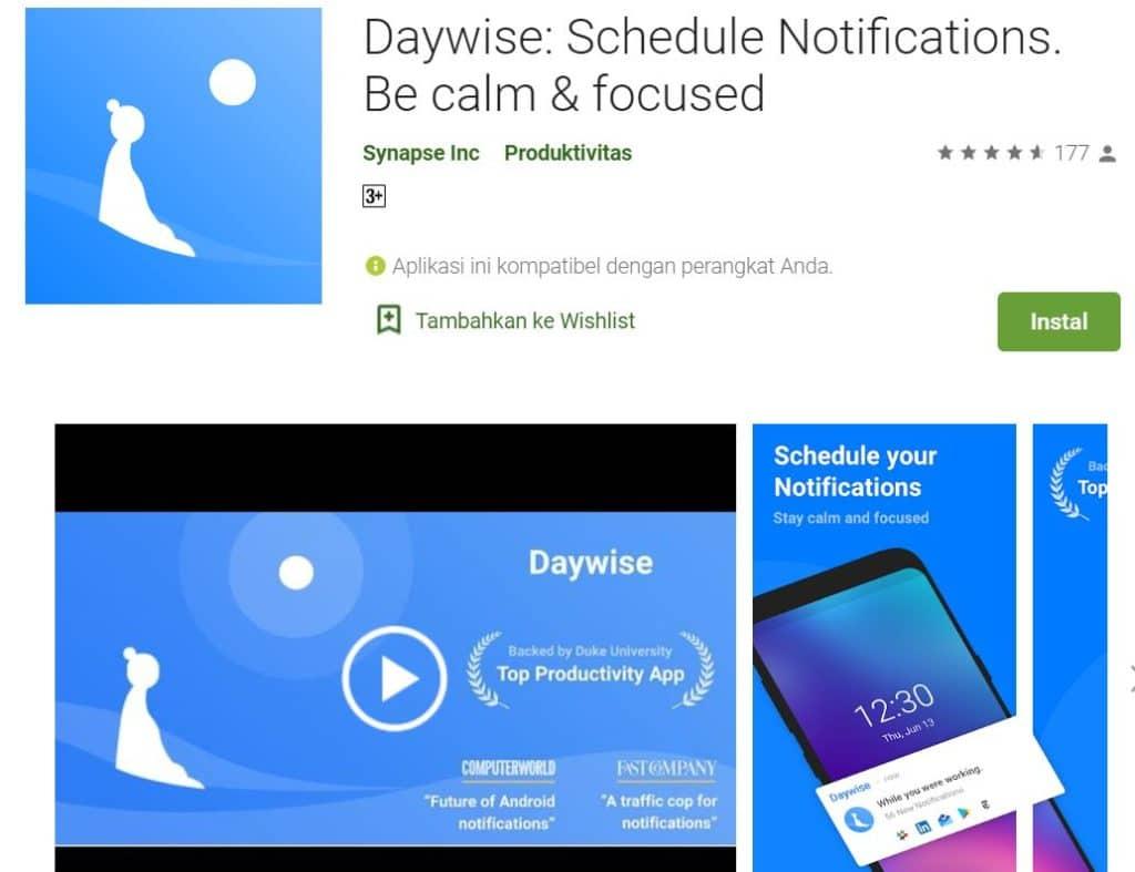 Aplikasi DayWise