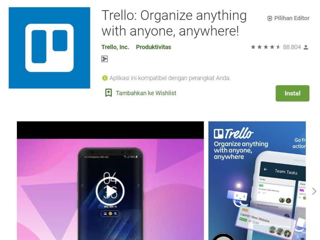 Aplikasi Trello