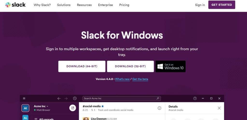 Aplikasi Slack
